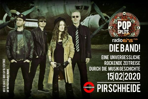 Radio Eins - PopSplits - Party Konzert