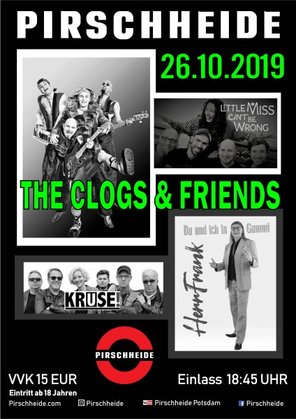 The Clogs and Friends; KRUSE, HerrFrank, LITTLE MISS CAN´T BE WRONG (LMCBW)